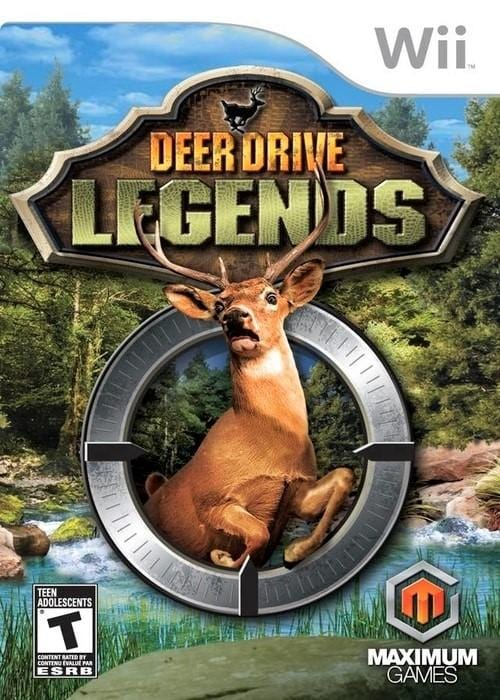 Deer Drive Legends Nintendo Wii Game - Gandorion Games