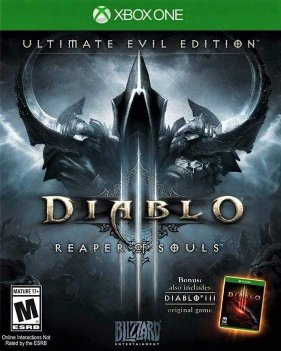 Diablo III Reaper of Souls Ultimate Evil Edition Microsoft Xbox One - Gandorion Games
