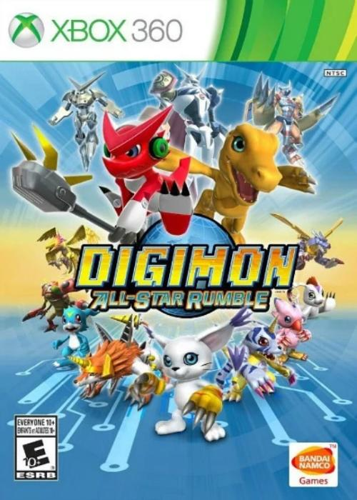 Digimon All-Star Rumble Xbox 360 - Gandorion Games