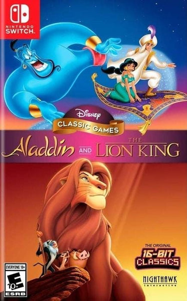 Disney Classic Games Aladdin and The Lion King Nintendo Switch - Gandorion Games
