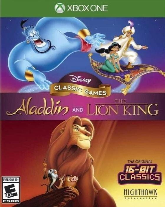 Disney Classic Games Aladdin and The Lion King Microsoft Xbox One - Gandorion Games