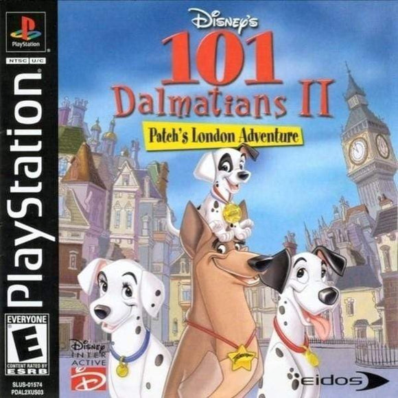 Disney's 101 Dalmatians II Patch's London Adventure Sony PlayStation 1 - Gandorion Games