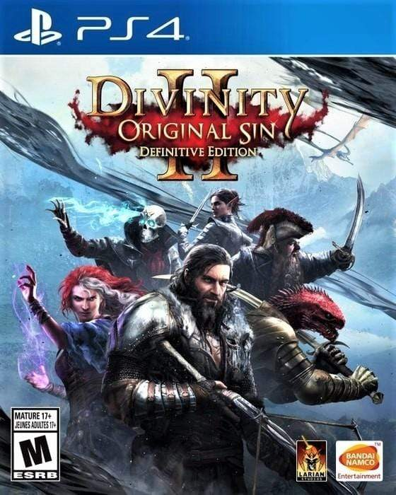 Divinity Original Sin II Definitive Edition Sony PlayStation 4 - Gandorion Games