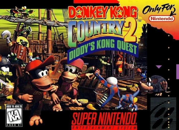 Donkey Kong Country 2 Diddy's Kong Quest SNES - Gandorion Games