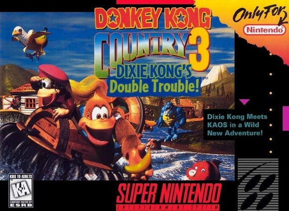 Donkey Kong Country 3 Super Nintendo SNES - Gandorion Games