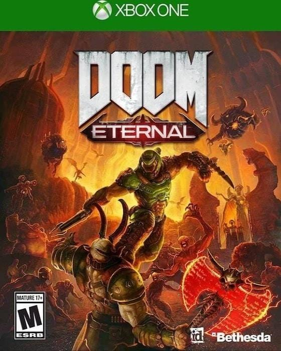 Doom Eternal Microsoft Xbox One Game - Gandorion Games