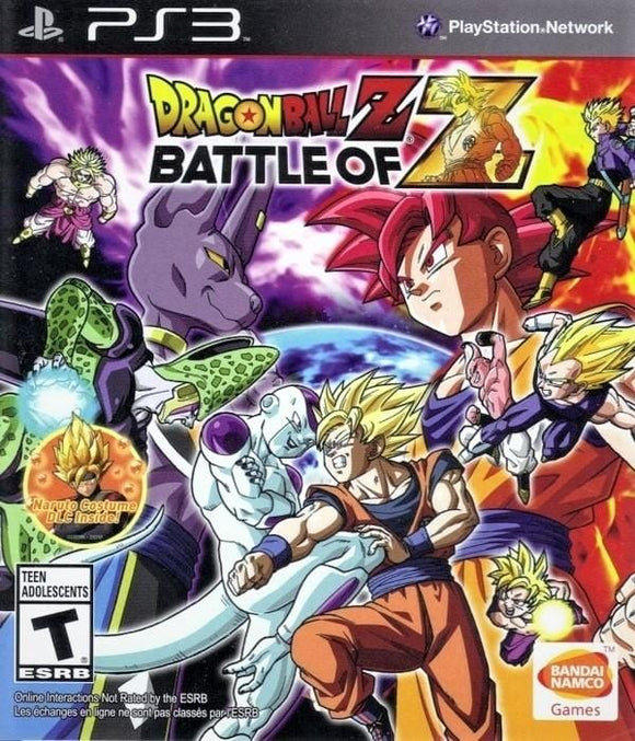 Dragon Ball Z Battle of Z Sony PlayStation 3 - Gandorion Games