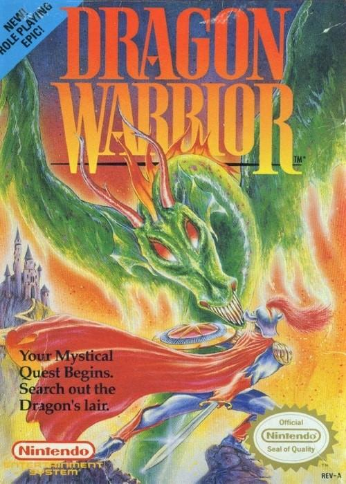 Dragon Warrior Nintendo NES Game - Gandorion Games
