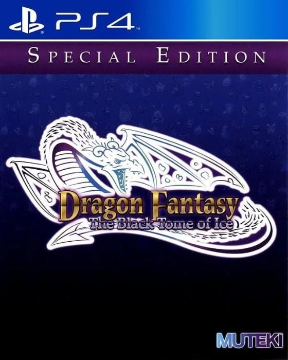 Dragon Fantasy The Black Tome of Ice Sony PlayStation 4 - Gandorion Games