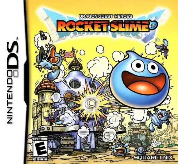 Dragon Quest Heroes Rocket Slime Nintendo DS Game - Gandorion Games