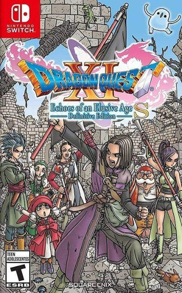 Dragon Quest XI S Echoes of an Elusive Age Definitive Edition Nintendo Switch - Gandorion Games