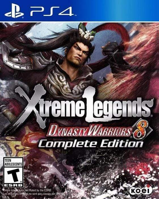Dynasty Warriors 8: Xtreme Legends Complete Edition Sony PlayStation 4 - Gandorion Games