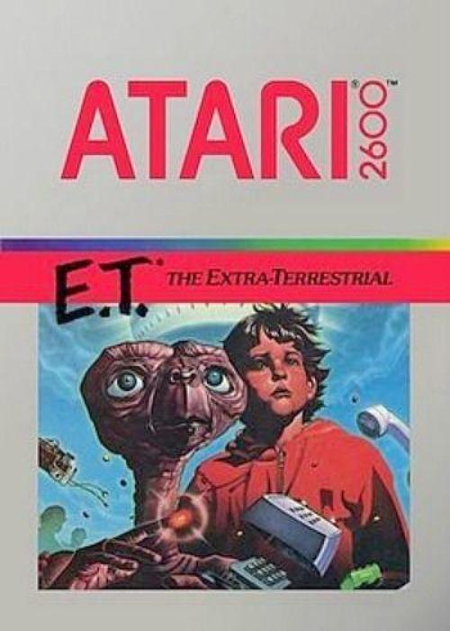 E.T. The Extra-Terrestrial Atari 2600 Game - Gandorion Games