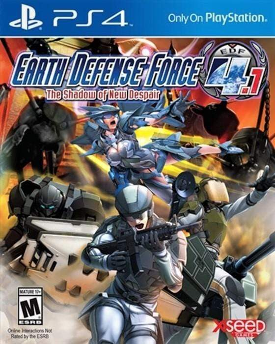 Earth Defense Force 4.1 The Shadow of New Despair Sony PlayStation 4 - Gandorion Games