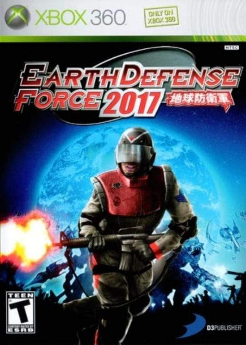 Earth Defense Force 2017 Xbox 360 - Gandorion Games