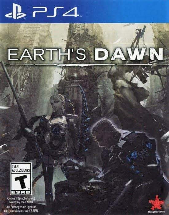 Earth's Dawn Sony PlayStation 4 - Gandorion Games