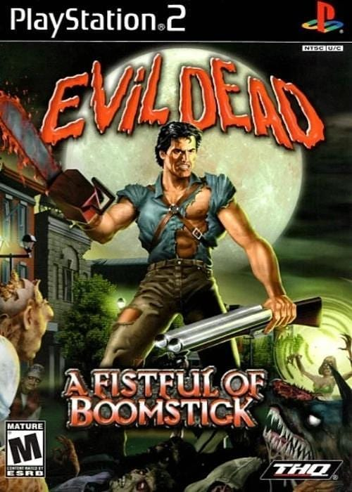 Evil Dead: A Fistful of Boomstick Sony PlayStation 2 Game PS2 - Gandorion Games