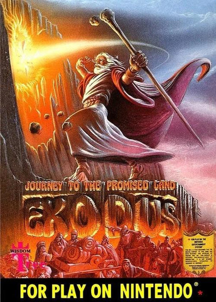Exodus Journey to the Promised Land Nintendo NES Game - Gandorion Games
