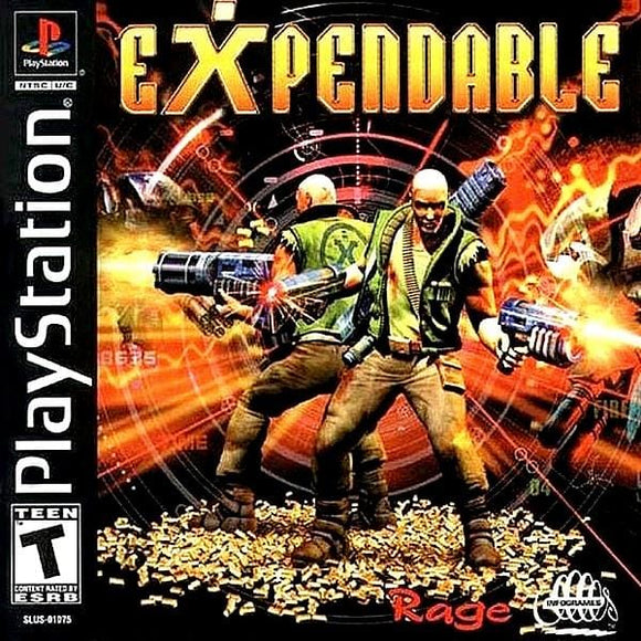 Expendable Sony PlayStation - Gandorion Games