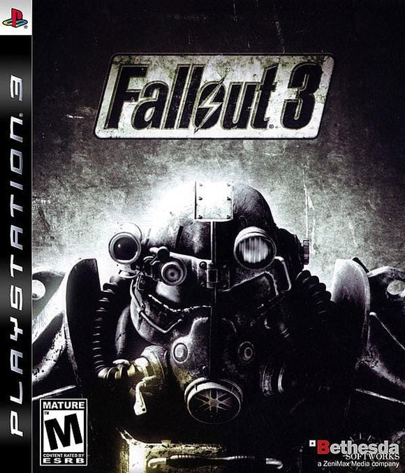 Fallout 3 Sony PlayStation 3 Game PS3 - Gandorion Games