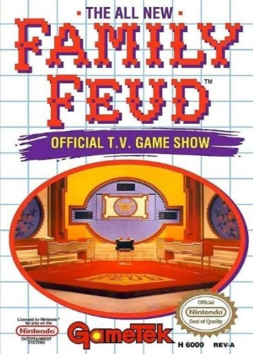 Family Feud Nintendo NES Game - Gandorion Games