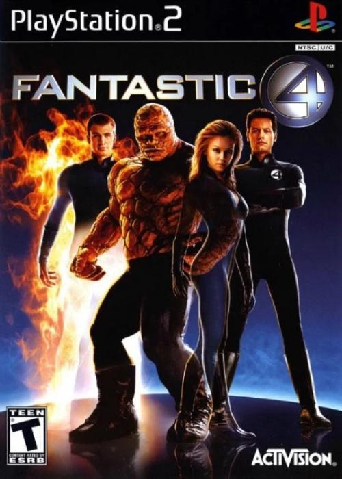 Fantastic 4 PlayStation 2 Game