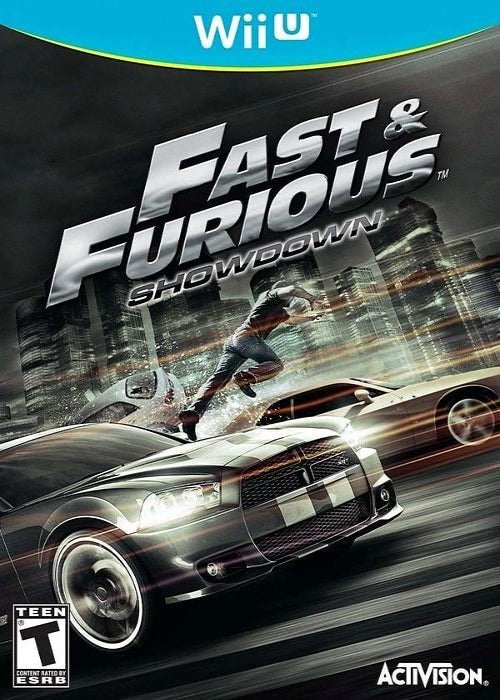 Fast and the Furious Showdown Nintendo Wii U Game - Gandorion Games