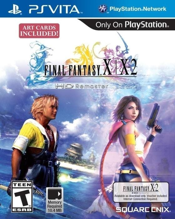 Final Fantasy X  X-2 HD Remaster Sony PlayStation Vita - Gandorion Games