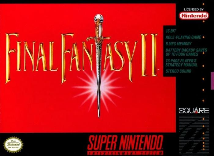 Final Fantasy II Super Nintendo SNES - Gandorion Games