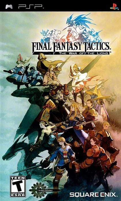 Final Fantasy Tactics The War Of The Lions Sony PSP - Gandorion Games