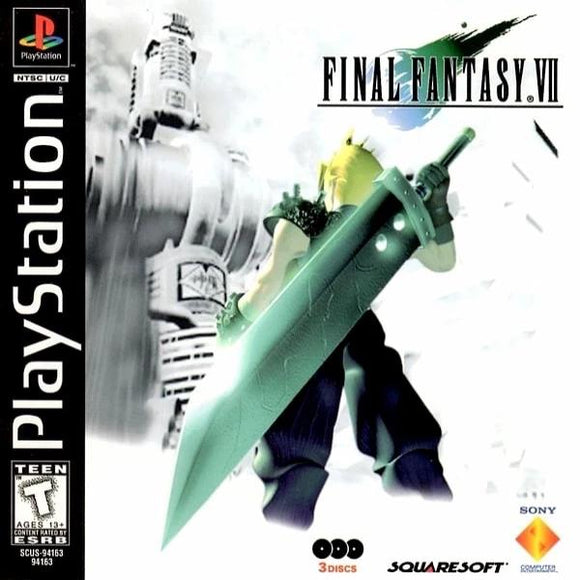 Final Fantasy VII PlayStation 1 - Gandorion Games