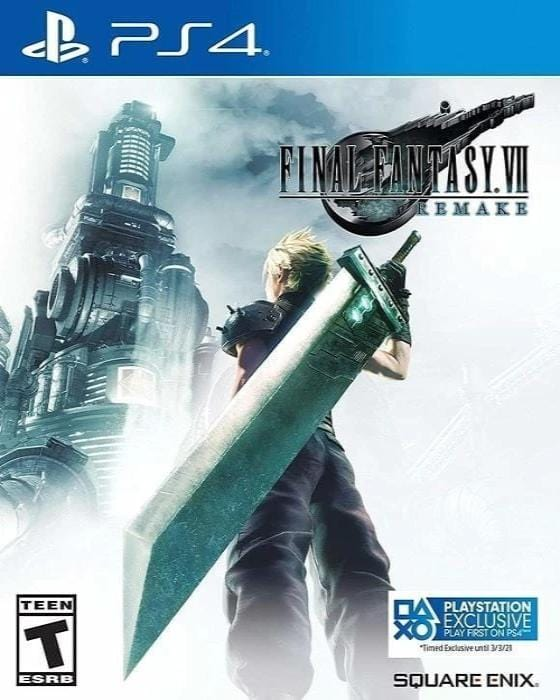 Final Fantasy VII Remake Sony PlayStation 4 Game - Gandorion Games