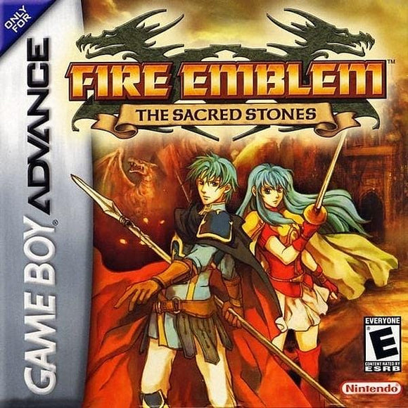 Fire Emblem The Sacred Stones Nintendo Game Boy Advance GBA - Gandorion Games
