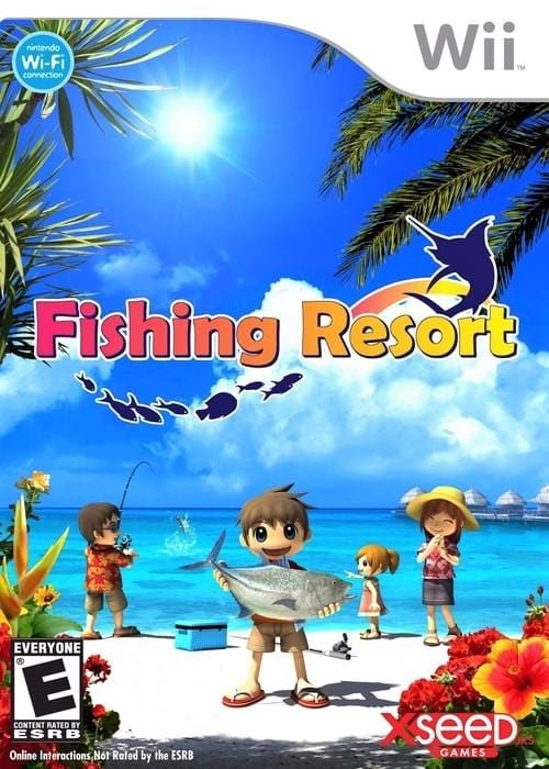 Fishing Resort Nintendo Wii Game - Gandorion Games