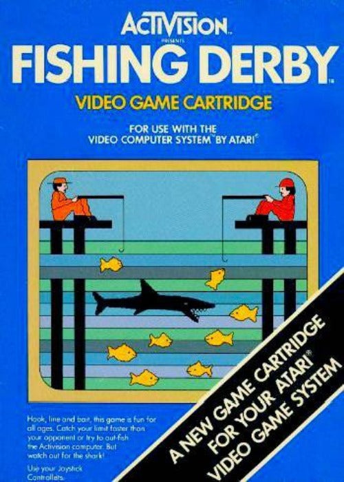 Fishing Derby Atari 2600 Game - Gandorion Games