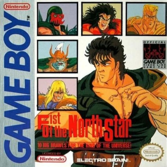 Fist of the North Star Nintendo Game Boy - Gandorion Games