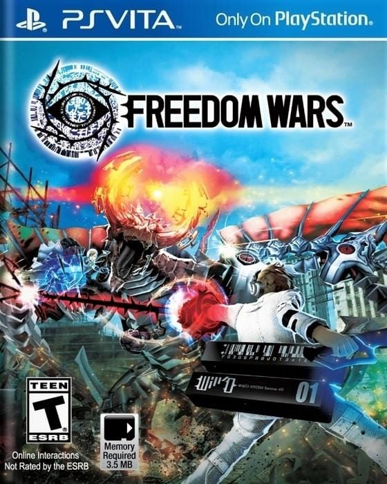 Freedom Wars Sony PlayStation Vita - Gandorion Games
