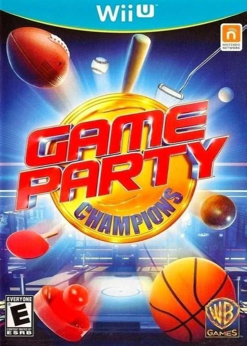 Game Party Champions Nintendo Wii U Game - Gandorion Games
