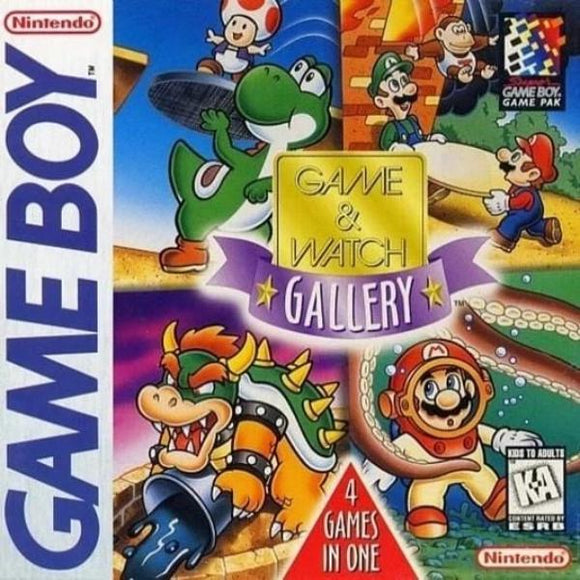 Game & Watch Gallery Nintendo Game Boy - Gandorion Games