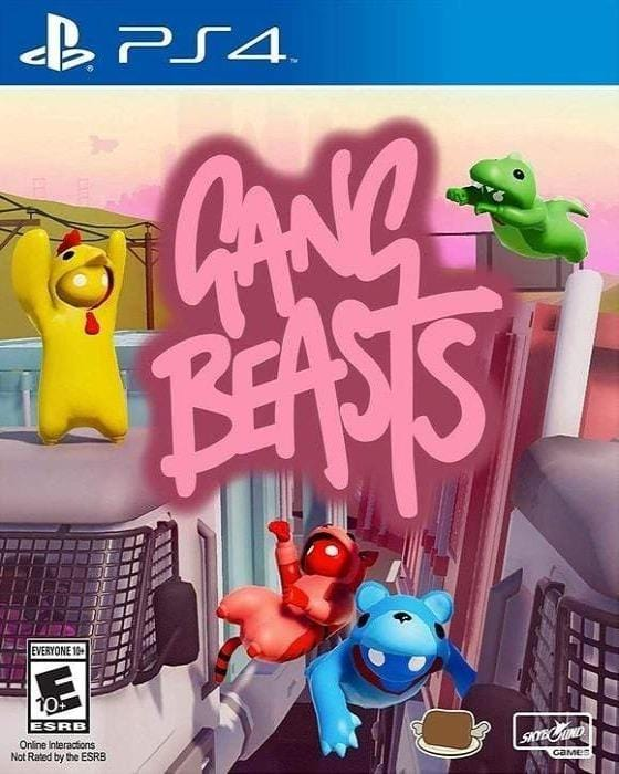 Gang Beasts - Sony Playstation 4 - Gandorion Games
