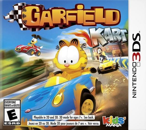 Garfield Kart Nintendo 3DS Game - Gandorion Games