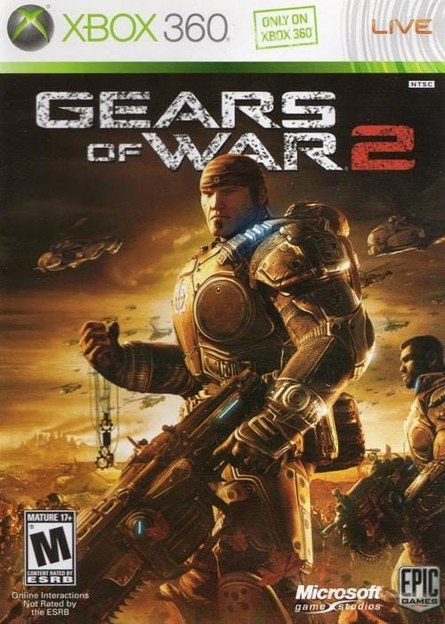 Gears of War 2 Xbox 360 Game - Gandorion Games