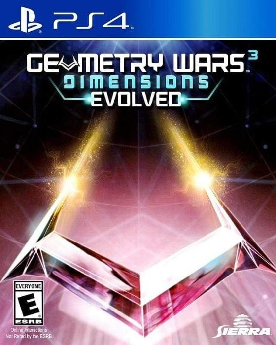 Geometry Wars 3 Dimensions Evolved Sony Playstation 4 - Gandorion Games