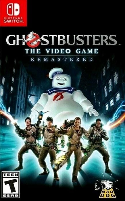 Ghostbusters The Video Game Remastered Nintendo Switch - Gandorion Games