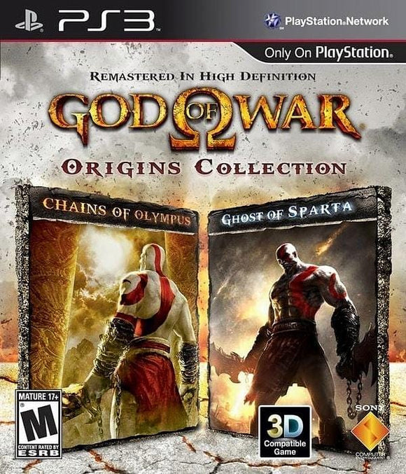 God of War Origins Collection PlayStation 3 - Gandorion Games