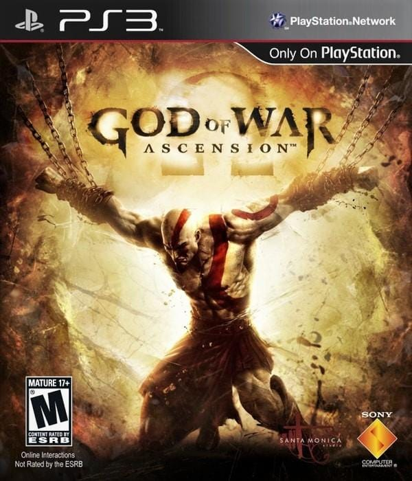 God of War Ascension Sony PlayStation 3 - Gandorion Games
