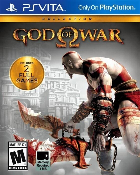 God of War Collection Sony PlayStation Vita - Gandorion Games