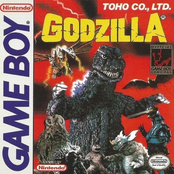 Godzilla Nintendo Game Boy - Gandorion Games