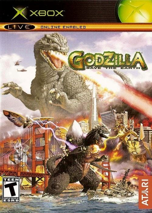 Godzilla Save the Earth Microsoft Xbox - Gandorion Games
