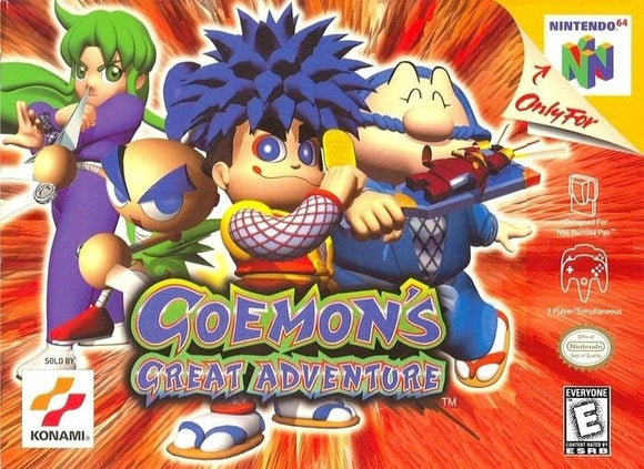 Goemon's Great Adventure - Nintendo 64 Game